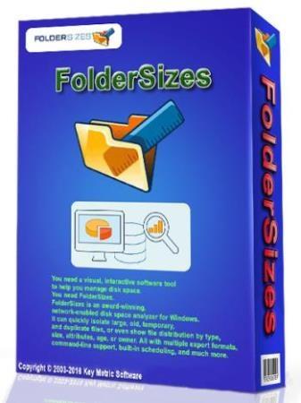 Key Metric Software FolderSizes 9.0.223 (Ml/Rus) Portable