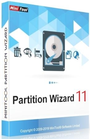 MiniTool Partition Wizard 11.5 Technician + Rus