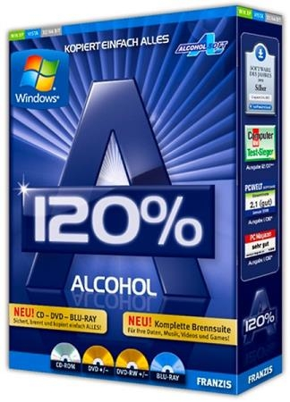Alcohol 120% 2.1.0.20601 Final RePack by KpoJIuK