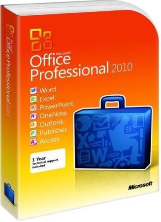 Microsoft Office 2010 SP2 Pro Plus / Standard 14.0.7232.5000RePack by KpoJIuK (2019.07)