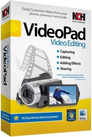 NCH VideoPad Video Editor Professional 7.22 (Rus) Portable