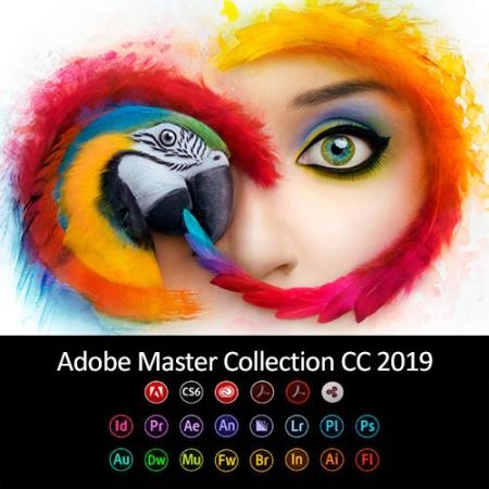 Adobe Master Collection CC 2019 v.5 by m0nkrus