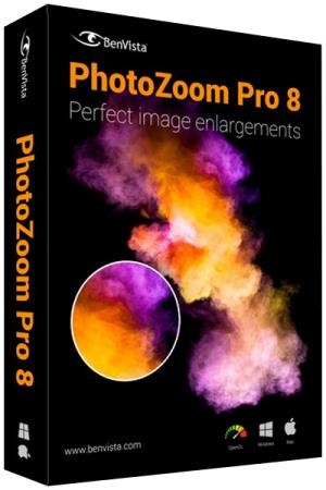 Benvista PhotoZoom Pro 8.0 with Plugins Portable
