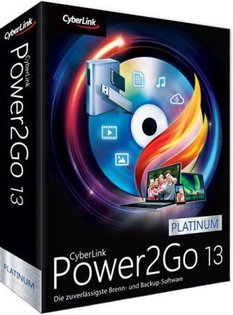 CyberLink Power2Go Platinum 13.0.0718.0 + Rus