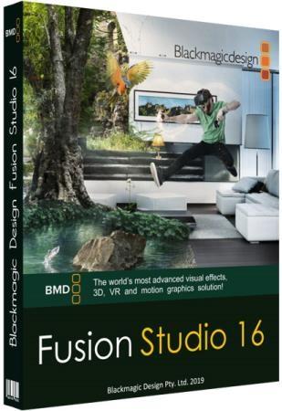 Blackmagic Design Fusion Studio 16.0 Build 49