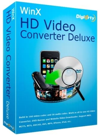WinX HD Video Converter Deluxe 5.15.3.321 DC 26.08.2019 + Rus