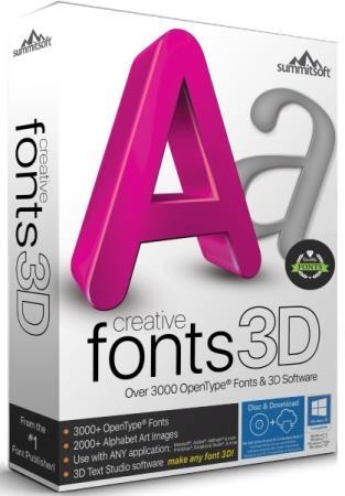 Summitsoft Creative Fonts 3D 10.5