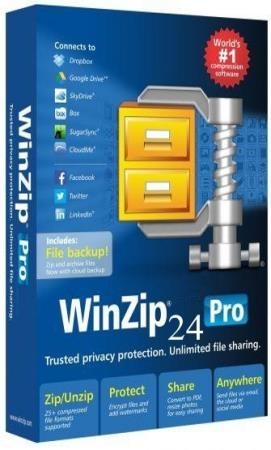 WinZip Pro 24.0 Build 13618 Russian