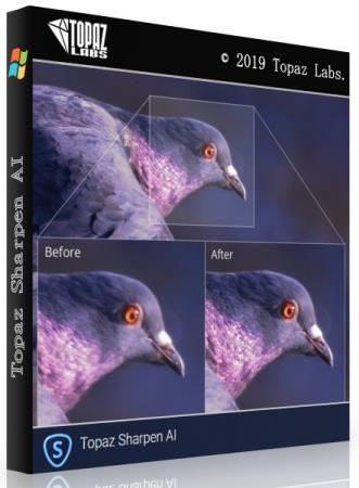 Topaz Sharpen AI 1.4.3 RePack & Portable by elchupakabra