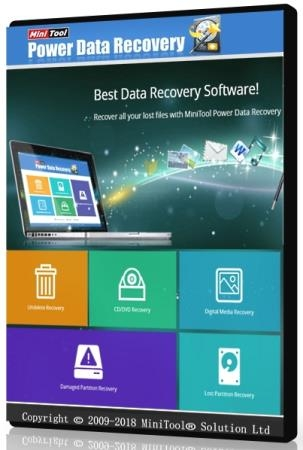 MiniTool Power Data Recovery Business Technician 8.6 + Rus