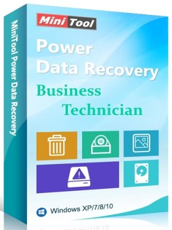 MiniTool Power Data Recovery Business Technician 8.6 WinPE ISO
