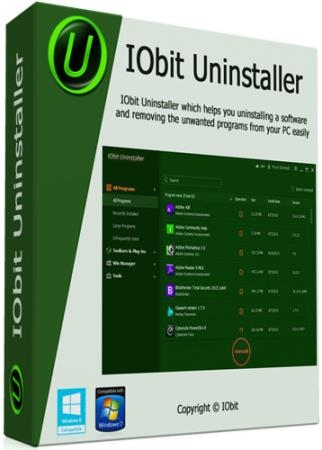 IObit Uninstaller Pro 9.1.0.8 RePack/Portable by Diakov