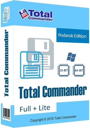 Total Commander 9.22a Podarok Edition + Lite (12.10.2019)