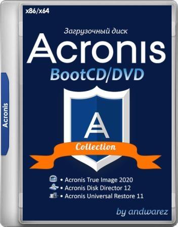 Acronis BootCD/DVD by andwarez 21.11.2019 (x86/x64/RUS)