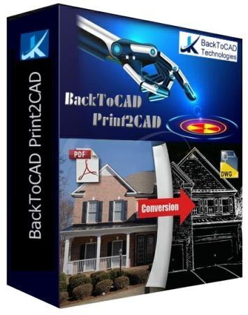 BackToCAD Print2CAD 2020 20.43