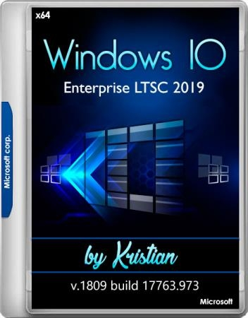 Windows 10 Enterprise LTSC 2019 v1809 build 17763.973 by Kristian (x64/RUS)