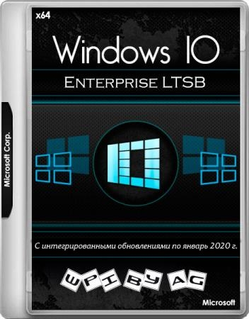 Windows 10 Enterprise LTSB v.1607.14393.3443 + WPI by AG 01.2020 (x64/RUS/ENG)