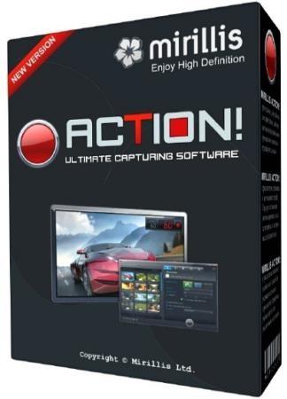 Mirillis Action! 4.0.4 RePack & Portable by KpoJIuK
