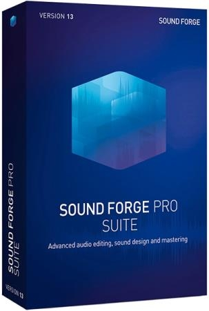MAGIX Sound Forge Pro Suite 13.0 Build 131 + Rus