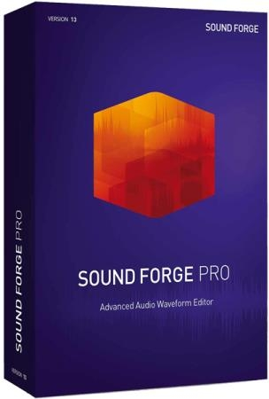 MAGIX SOUND FORGE Pro 13.0 Build 131 RePack by Pooshock