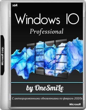 Windows 10 Pro VL 1909 build 18363.628 by OneSmiLe 09.02.2020 (x64/RUS)
