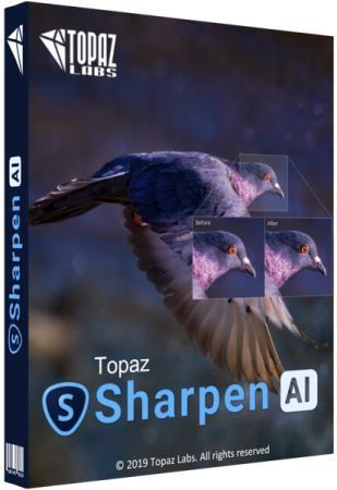 Topaz Sharpen AI 2.0.3