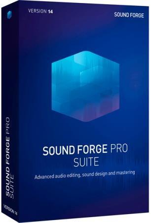 MAGIX Sound Forge Pro Suite 14.0 Build 43 + Rus