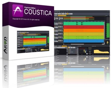 Acoustica Premium Edition 7.2.1 RePack & Portable by TryRooM