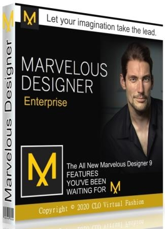 Marvelous Designer 9.5 Enterprise 5.1.445.28680