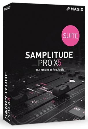 MAGIX Samplitude Pro X5 Suite 16.0.3.34