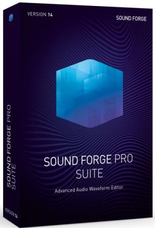 MAGIX SOUND FORGE Pro Suite 14.0 Build 111 + Rus