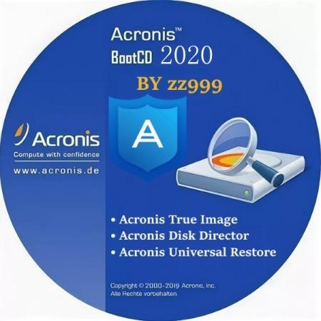 Acronis BootCD 2020 by zz999 2020.08