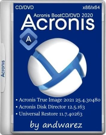 Acronis BootCD/DVD by andwarez 31.08.2020