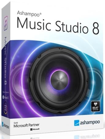 Ashampoo Music Studio 8.0.3.2 RePack & Portable by TryRooM