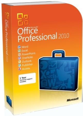 Microsoft Office 2010 SP2 Pro Plus / Standard 14.0.7258.5000 RePack by KpoJIuK (2020.10)