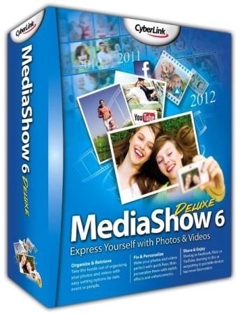 CyberLink MediaShow Deluxe 6.0.12916 + Rus