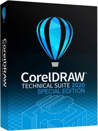 CorelDRAW Technical Suite 2020 22.2.0.532 + Content