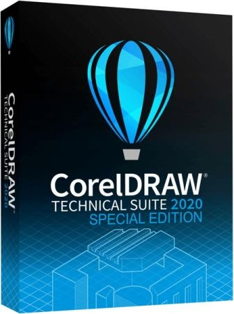CorelDRAW Technical Suite 2020 22.2.0.532 RePack by KpoJIuK