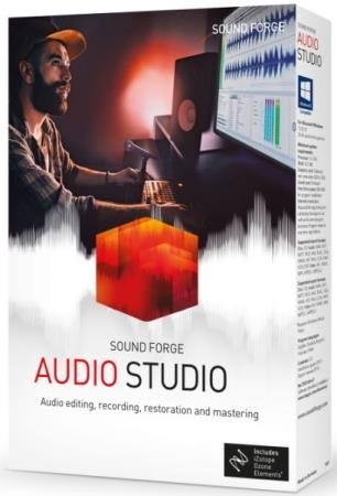 MAGIX SOUND FORGE Audio Studio 15.0 Build 46