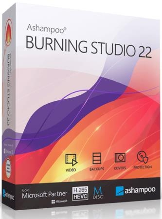 Ashampoo Burning Studio 22.0.5.26 RePack & Portable by TryRooM