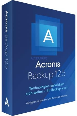 Acronis Cyber Backup 12.5 Build 16428 BootCD
