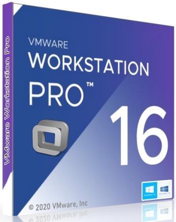 VMware Workstation Pro 16.1.1 Build 17801498 + Rus