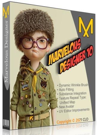 Marvelous Designer 10 Personal 6.0.579.32956