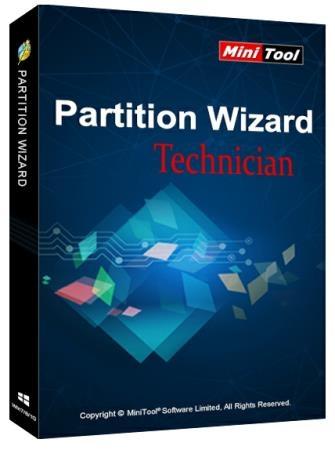 MiniTool Partition Wizard Technician 12.5 + Rus