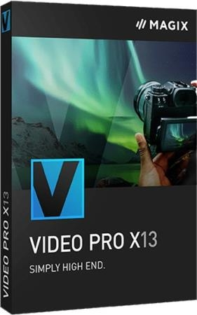 MAGIX Video Pro X13 19.0.1.105 RUS/ENG RePack by PooShock
