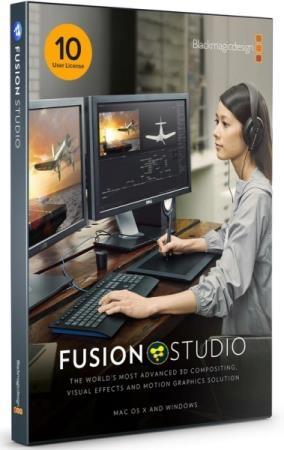 Blackmagic Design Fusion Studio 17.3.1 Build 6