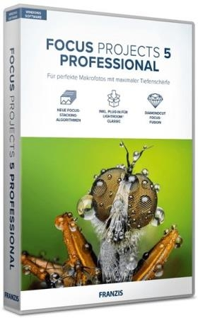 Franzis FOCUS projects 5 professional 5.34.03722 RUS Portable by Alz50