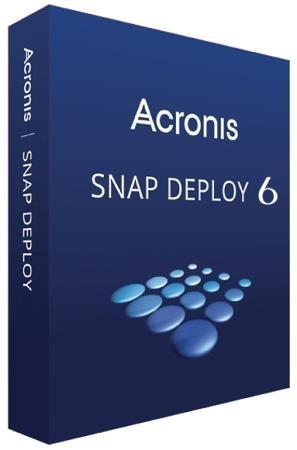 Acronis Snap Deploy 6.0.3030