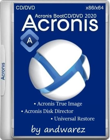 Acronis BootCD/DVD by andwarez 21.09.2021