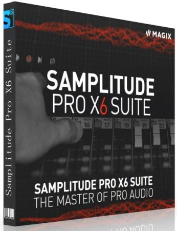MAGIX Samplitude Pro X6 Suite 17.1.1.21443